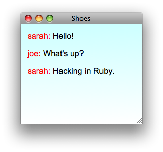 Write a 32-line chat client using Ruby, AMQP & EventMachine (and a